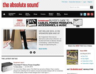 theabsolutesound.com screenshot