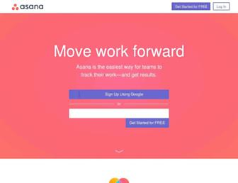 Thumbshot of Asana.com