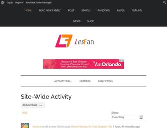 Thumbshot of Lesfan.com