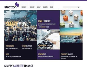 strattonfinance.com.au screenshot