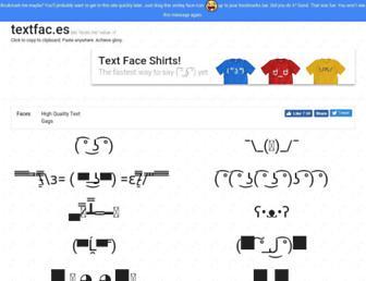 Thumbshot of Textfac.es