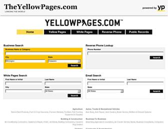 Thumbshot of Theyellowpages.com