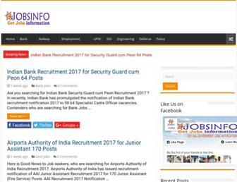ejobsinfo.com screenshot