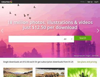 colourbox.com screenshot