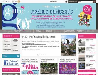 ville-gaillac.fr screenshot