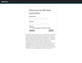 webmail.ams.or.at screenshot