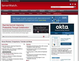 Thumbshot of Serverwatch.com