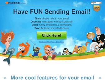 Thumbshot of Incredimail.com