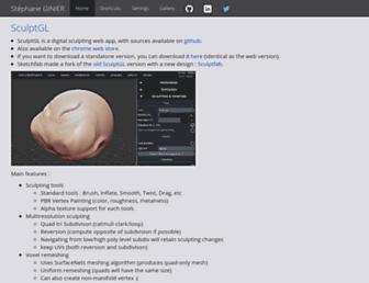 stephaneginier.com screenshot