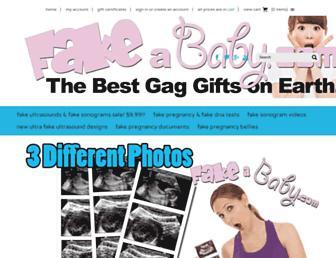 fakeababy.com screenshot