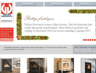 waltergoovaerts.be screenshot