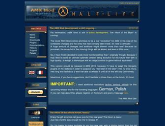 amxmod.net screenshot