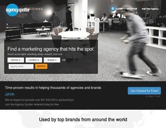 agencyspotter.com screenshot