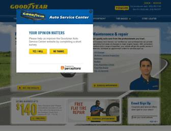 Thumbshot of Goodyearautoservice.com