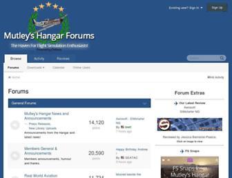 forum.mutleyshangar.com screenshot