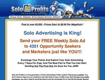 Thumbshot of Soloadprofits.com