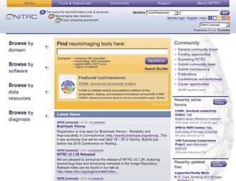 nitrc.org screenshot