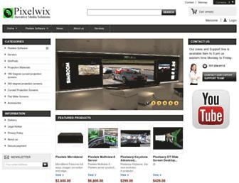 pixelwix.com screenshot