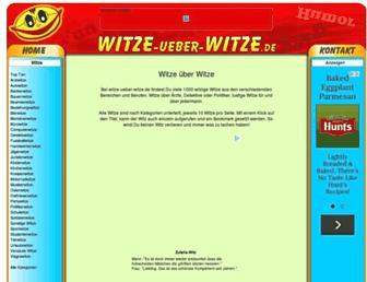 Fullscreen thumbnail of witze-ueber-witze.de