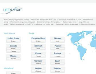 Thumbshot of Lifewave.com
