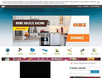 Main page screenshot of odkrywcy.pl