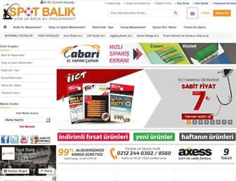 Thumbshot of Spotbalik.com.tr