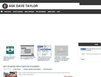 askdavetaylor.com screenshot