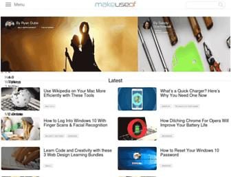 makeuseof.com screenshot
