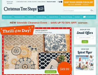 Thumbshot of Christmastreeshops.com