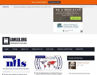 lawlex.org screenshot