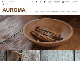 auroma.com.au screenshot