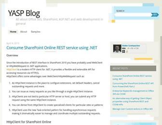 blog.vgrem.com screenshot