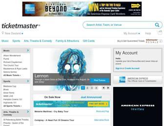 Thumbshot of Ticketmaster.co.nz
