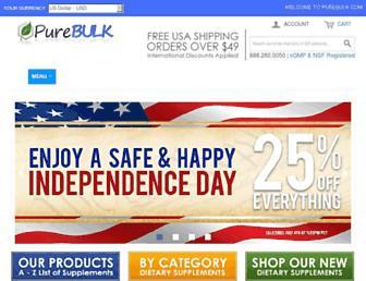 Thumbshot of Purebulk.com
