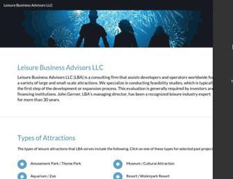 leisure-business.com screenshot