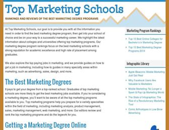 topmarketingschools.net screenshot
