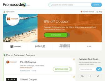 Thumbshot of Promocodes.com