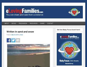 elovingfamilies.com screenshot