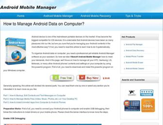 android-mobile-manager.com screenshot