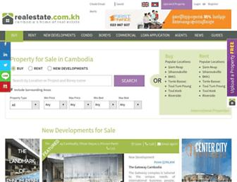 realestate.com.kh screenshot