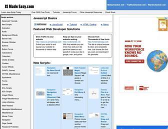 jsmadeeasy.com screenshot