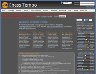 chesstempo.com screenshot