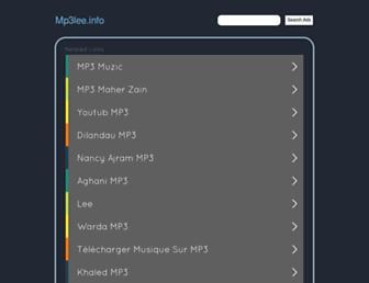mp3lee.info screenshot