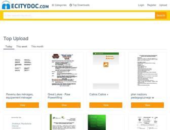 ecitydoc.com screenshot