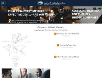 ajg.com screenshot