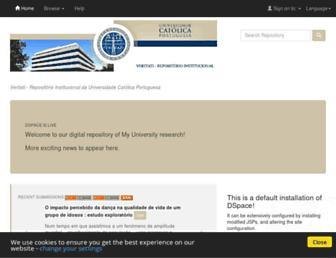 repositorio.ucp.pt screenshot