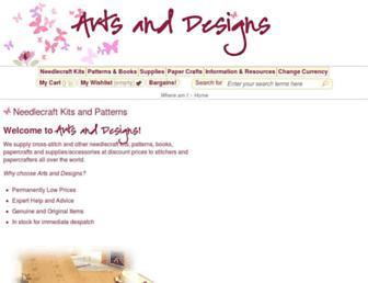 artsanddesigns.com screenshot