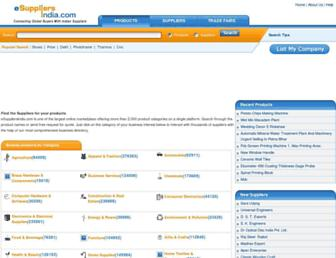 Thumbshot of Esuppliersindia.com