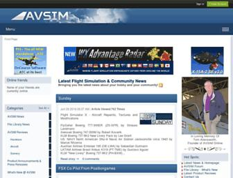 avsim.com screenshot