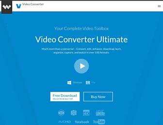 videoconverter.wondershare.com screenshot